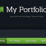 Красивое портфолио на HTML5 и CSS3