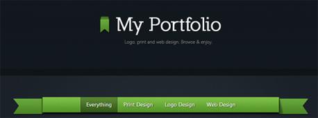 HTML5 CSS3 портфолио