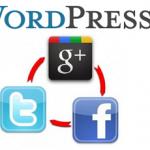 Добавляем кнопки соц. сетей в WordPress.
