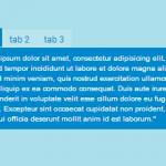 Закладки на чистом CSS3